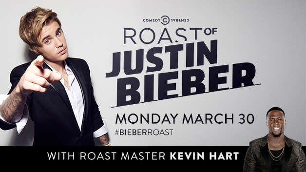 Justin bieber receives the roasting he so richly deserves on Comedy Central. It airs on Monday, March 30th at 9 p.m. Photo: Comedy Central