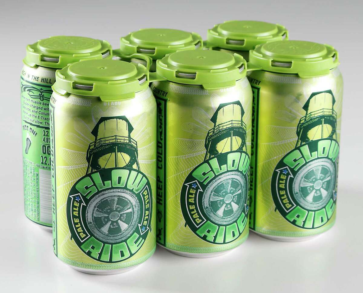 Oasis Texas Brewing Company Slow Ride Pale Ale Monday, March 2, 2015, in Houston. ( James Nielsen / Houston Chronicle )