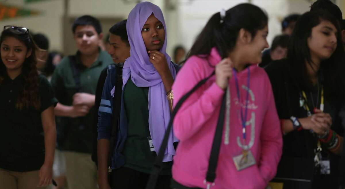 Lee High School's student body reflects the growing diversity of Harris County.
