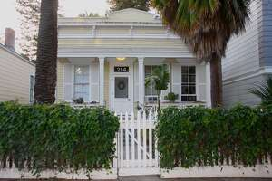 Tanforan Cottage 1 is one of the oldest buildings in the Mission. It was built in 1853 by the Tanforan ranching family.