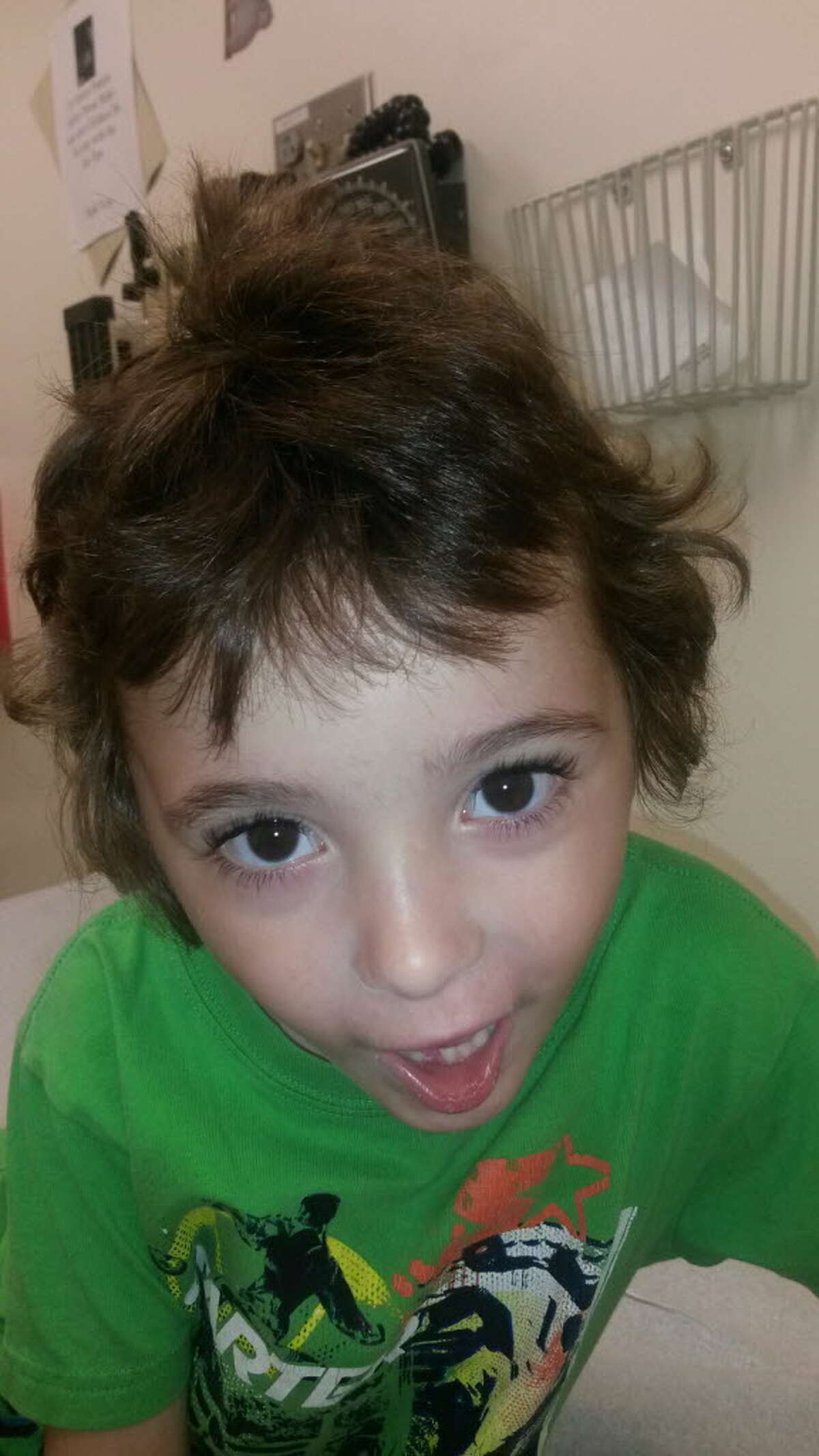 Photo of 5-year-old Kenneth White, who was being cared for in a Knox trailer with his two siblings by his aunt and 19-year-old cousin, who is accused of beating him and choking him to death just before Christmas 2014. (Photo provided by Brenda VanAlstyne)