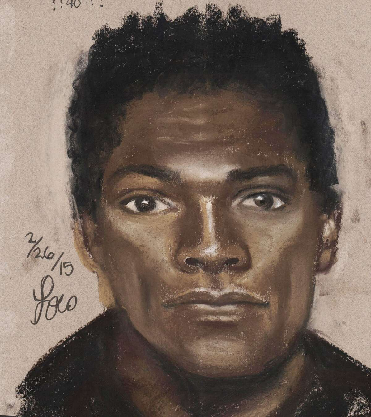 Authorities are looking for this man, who is suspected in the Feb. 12 slaying of a Brinks armored car guard.