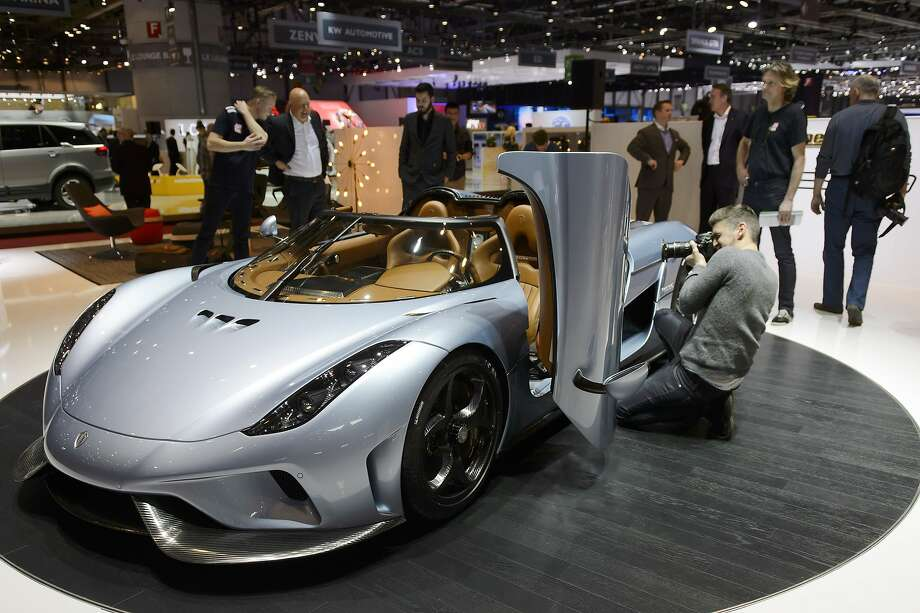 "10. Koenigsegg RegeraNothing says ""hey, look at me"" like doors that don't open like everyone else's doors. But don't worry, the Koenigsegg is Swedish so it'll match the Ikea furniture which will be all you can afford after you drop nearly $2 million on this car. Photo: Martial Trezzini, Associated Press"