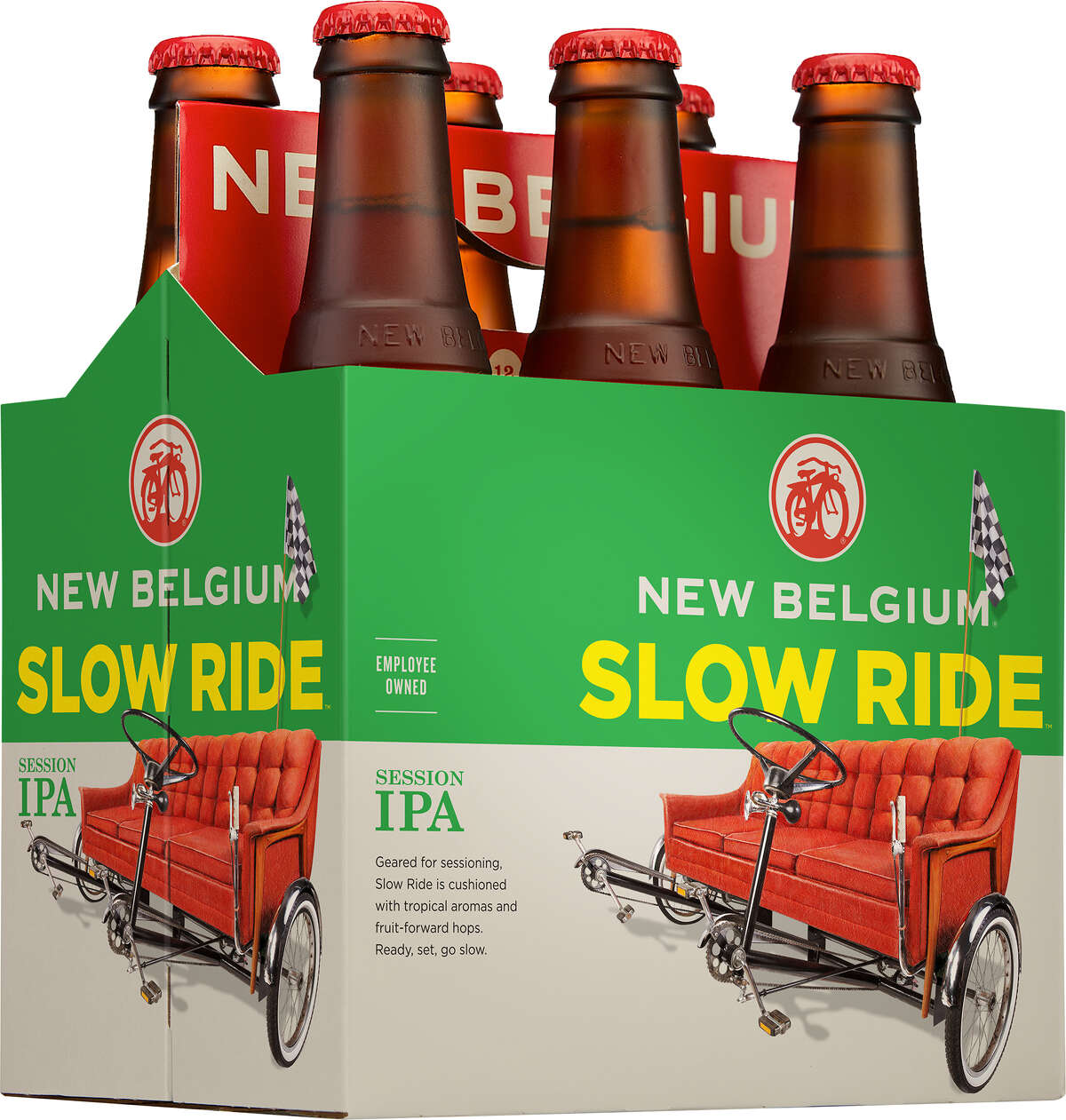 New Belgium Brewing Co. is rolling out a new beer called Slow Ride Session IPA, but initially not in Texas, where an in-state brewery is already using the name.