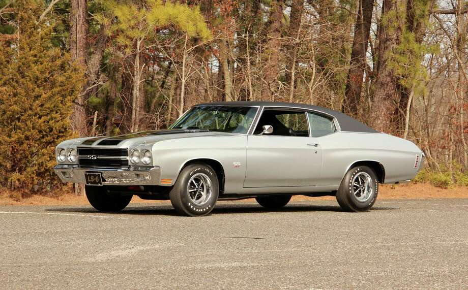 1970 Chevelle SSThis is one of just 4,475 LS6 Chevelles produced that year. It features a 454/450 HP engine with 4-speed transmission, instrument panel gauges and tinted glass. (Lot F119) Photo: Mecum Auctions