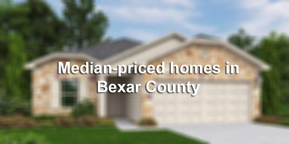 We've rounded up 20 houses in the San Antonio area that are listed near Bexar County's median home price of $176,700. From pools to modern renovations to theaters, these average homes are actually not-so average. Slideshow created February 2015. Market status subject to change. Click through the slideshow to see 20 median-priced homes in the Alamo City.