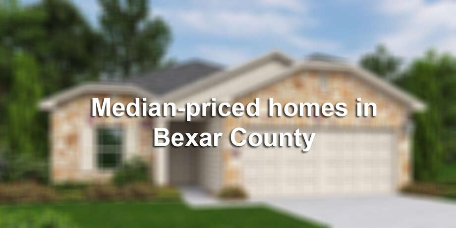 We've rounded up 20 houses in the San Antonio area that are listed near Bexar County's median home price of $176,700. From pools to modern renovations to theaters, these average homes are actually not-so average. Slideshow created February 2015. Market status subject to change. Click through the slideshow to see 20 median-priced homes in the Alamo City. Photo: File