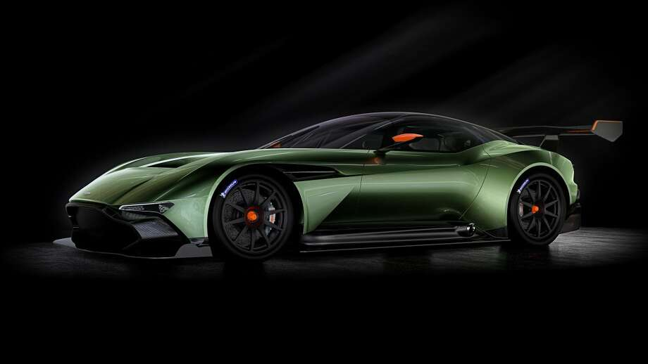 With its debut at the 2015 Geneva Motor Show, the Vulcan ascends to its rightful place as Aston's halo car.  Photo: Aston Martin (via Business Insider)