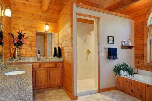 J.J. Watt's Wisconsin cabin.