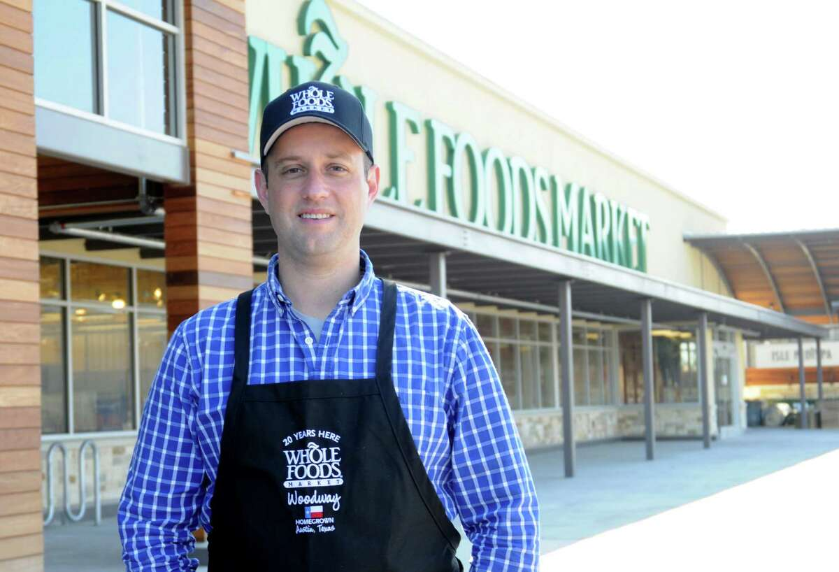 Andrew King is the store team leader at the new Whole Foods on Voss Road.Andrew King is the store team leader at the new Whole Foods on Voss Road.