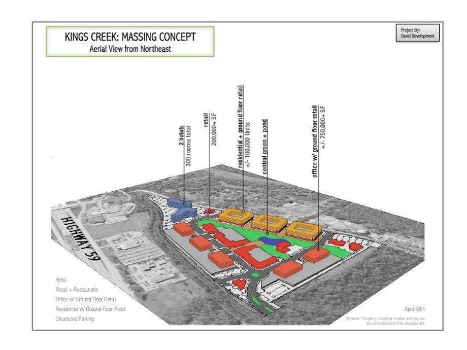 KINGWOOD LUXURY: Kingés Creek is a planned $1.2 billion LEED certified development that will include: Photo: Courtesy