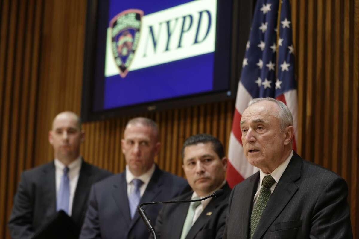 NYPD Commissioner Bill Bratton says marijuana is cause of killings ...