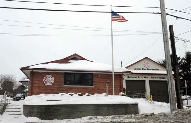 The Raymond K. Lamora Island Fire Station on Tuesday March 3, 2015 in Cohoes, N.Y. Cohoes City Hall is closed. Operations were moved to the fire station several blocks to the east while asbestos test results are waited to come back. (Michael P. Farrell/Times Union) Photo: Michael P. Farrell / 00030837A