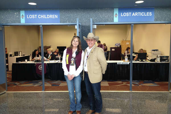 """Lose something at RodeoHouston 2015? Here's what turned up """"lost and found"""" Room 102 at NRG Center."""