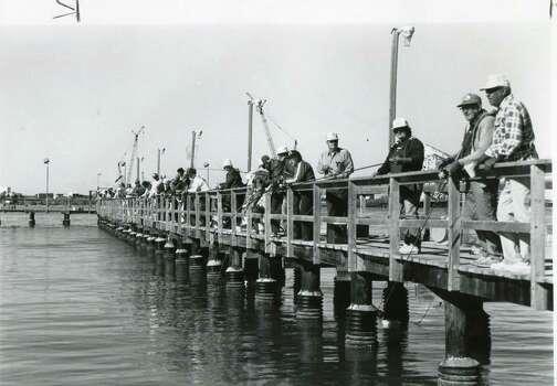 Vintage photographs from port aransas portray early life for San antonio fishing spots
