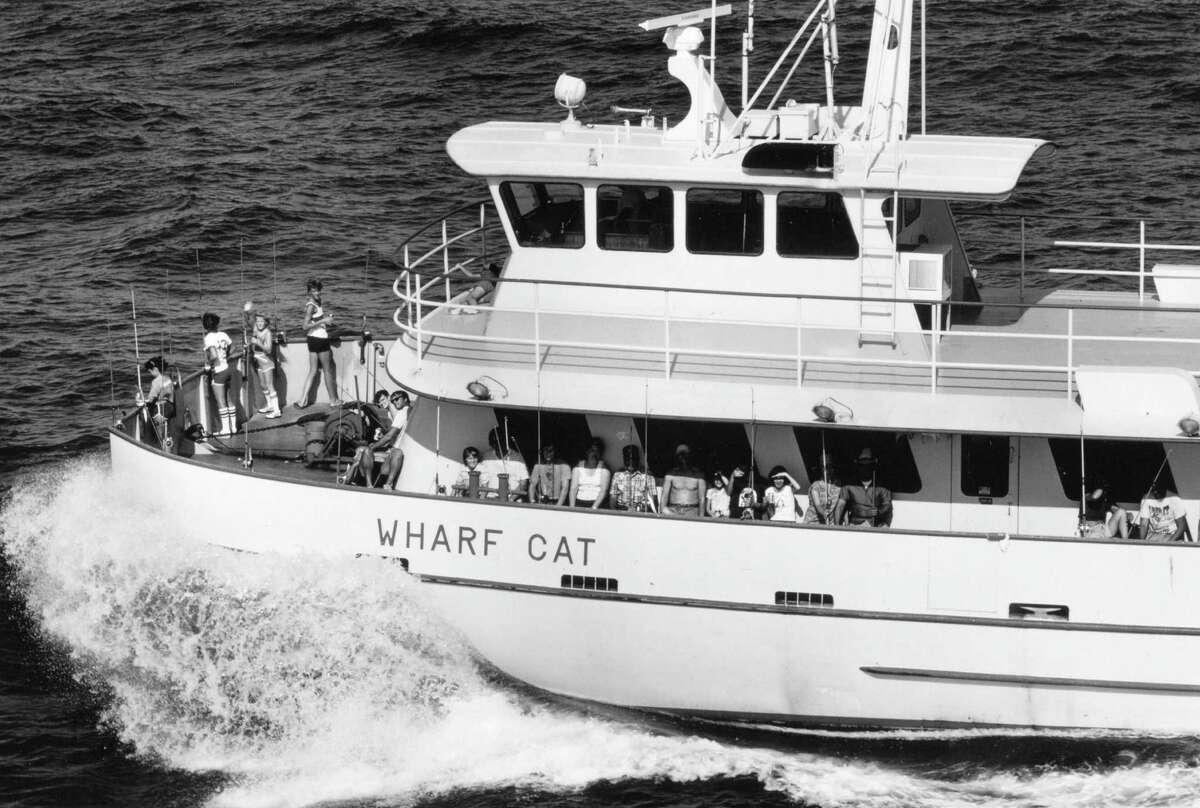 By 1989, yachts ran deep-sea fishing trips.