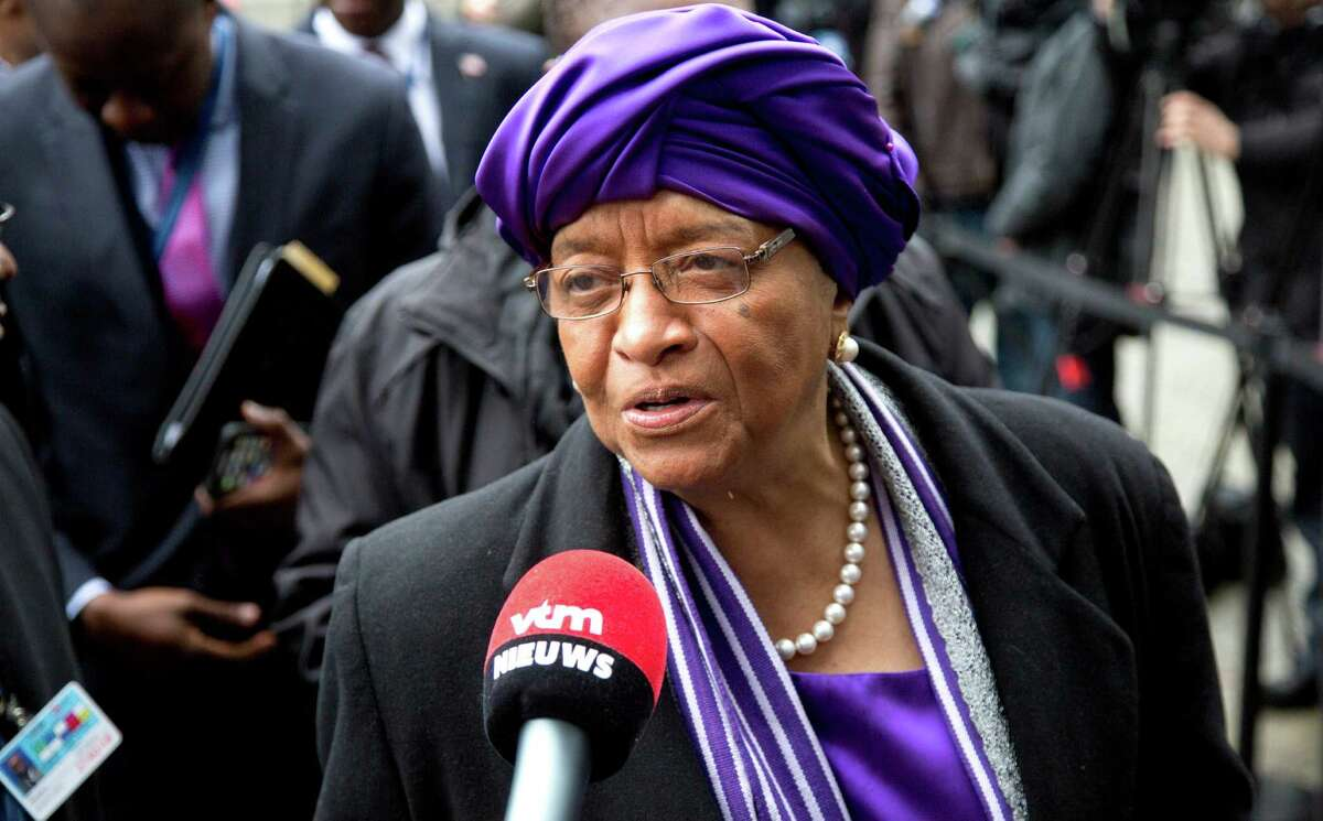 Liberia: President Ellen Johnson Sirleaf. She is the first female head of state to be elected in Africa and has been in office since January 16, 2006. She also co-won the 2011 Nobel Peace Prize.