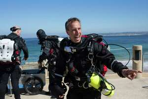 Monterey: Bob Hollis dives deep with BreakWater Scuba - Photo