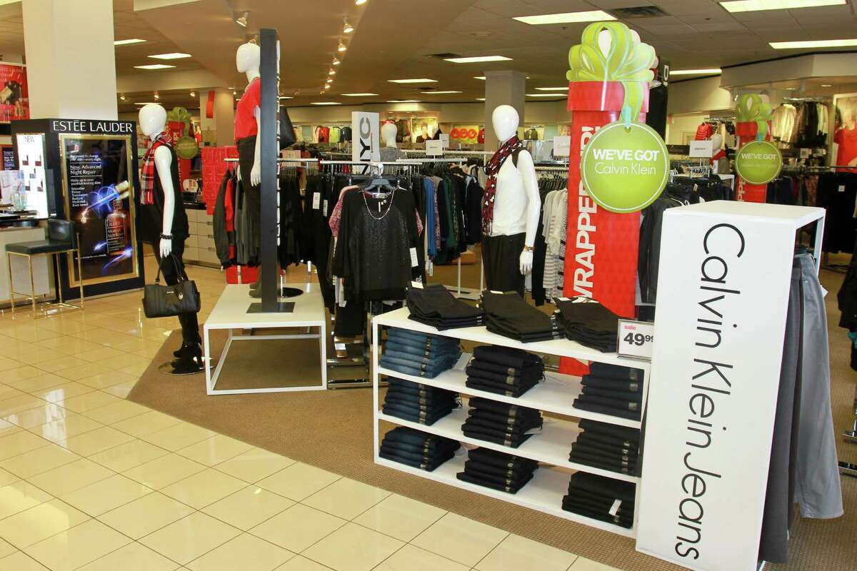 Calvin Klein jeans at the Palais Royal in Meyerland Plaza Mall. (For the Chronicle/Gary Fountain, November19, 2014)