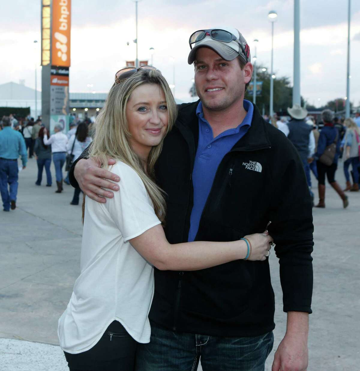 Rodeo fans at the Eric Church concert Tuesday, March 3, 2015.