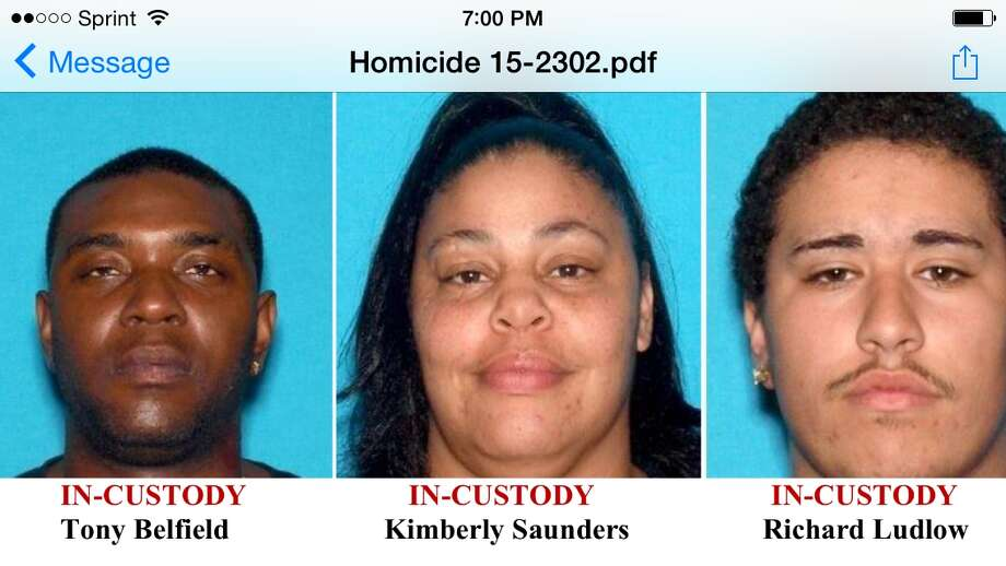 These three suspects, who crashed into a house during a car chase, are being held on suspicion of murder, Antioch police say Photo: Antioch Police / ONLINE_YES