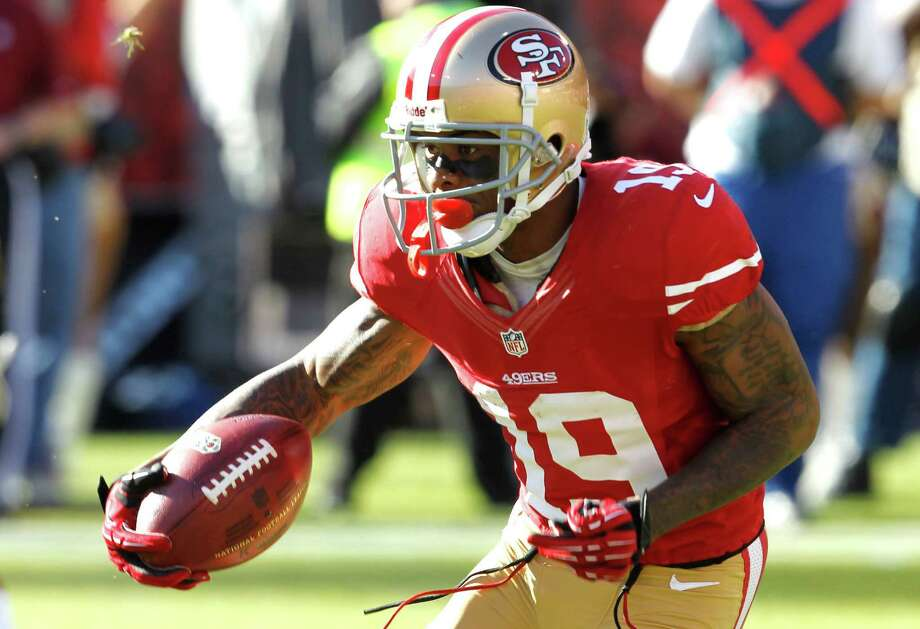 Ted Ginn. Photo: Brant Ward / The Chronicle / ONLINE_YES