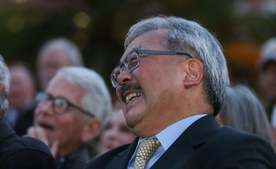 Mayor Ed Lee has consistently maintained that $250 million is the largest bond  the city could float without raising property taxes.  Photo: Amy Osborne / The Chronicle / ONLINE_YES