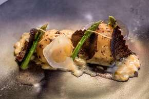 Gnoccho with Perigord Truffle at Quince in San Francisco, Calif., is seen on Wednesday, February 18th,  2015.
