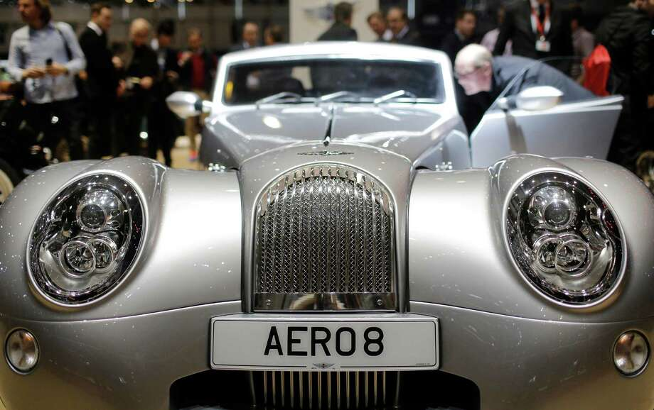 From insane supercars, hot new electrics (an Audi R8!), and concept cars named after a pizza chain (???), see what's new from European automakers at the 2015 Geneva International Motor Show in this slideshow.(Above, the new Morgan Aero 8) Photo: Laurent Cipriani, AP / AP