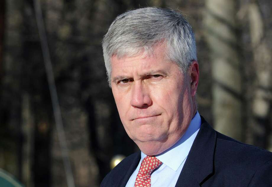 The state Appellate Court has reversed New Canaan resident Michael Nowacki's 2012 protective-order conviction. The court also acquitted Nowacki, seen above in a file photo, on a harassment charge. Photo: Autumn Driscoll, ST / Connecticut Post
