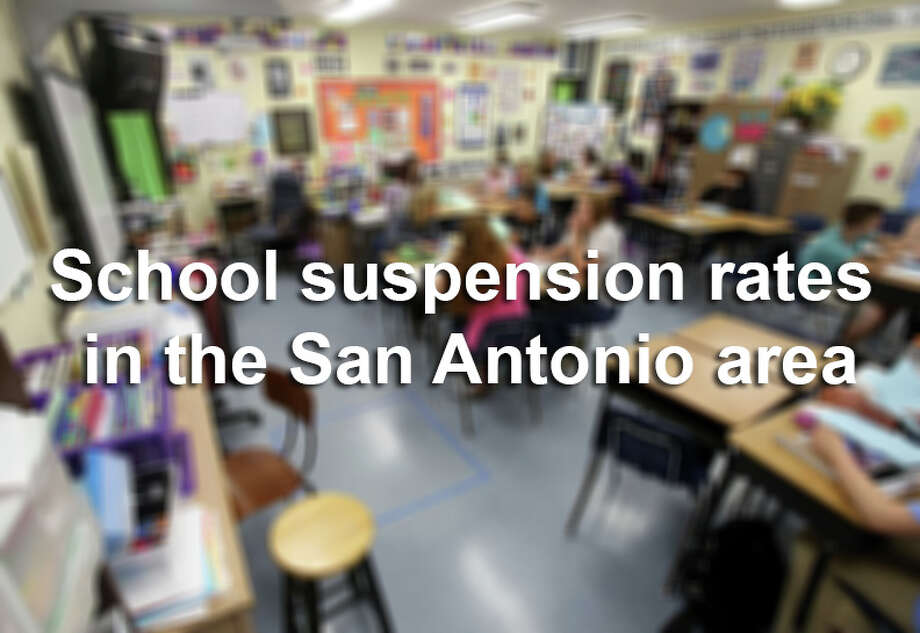 Students of color and those with disabilities in San Antonio middle and high schools are disciplined with off-campus suspensions at higher rates than their peers. Photo: Helen L. Montoya, San Antonio Express-News / ©2014 San Antonio Express-News