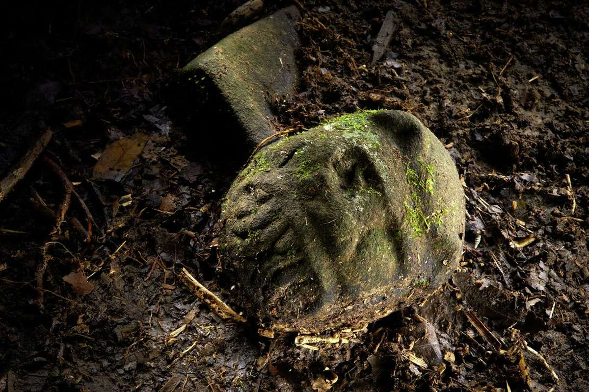 White City, Honduras Artifacts were visible protruding from the earth when a National Geographic reporters arrived with a crew to the remote jungle site of the supposed lost city. Photo credit: National Geographic