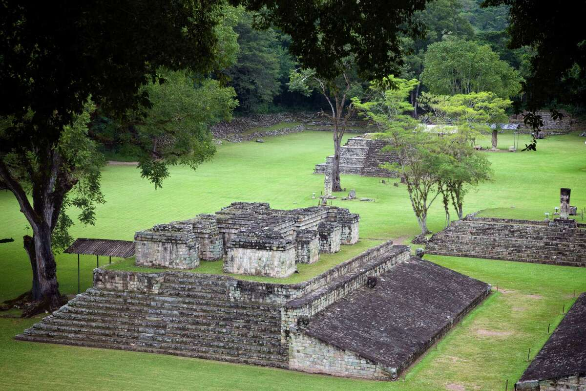 2. Each country may submit two nominated sites at the annual World Heritage Convention. This year, the San Antonio Missions application is the only one being presented on behalf of the United States. Shown is the archaeological Mayan site, Copan, in Honduras