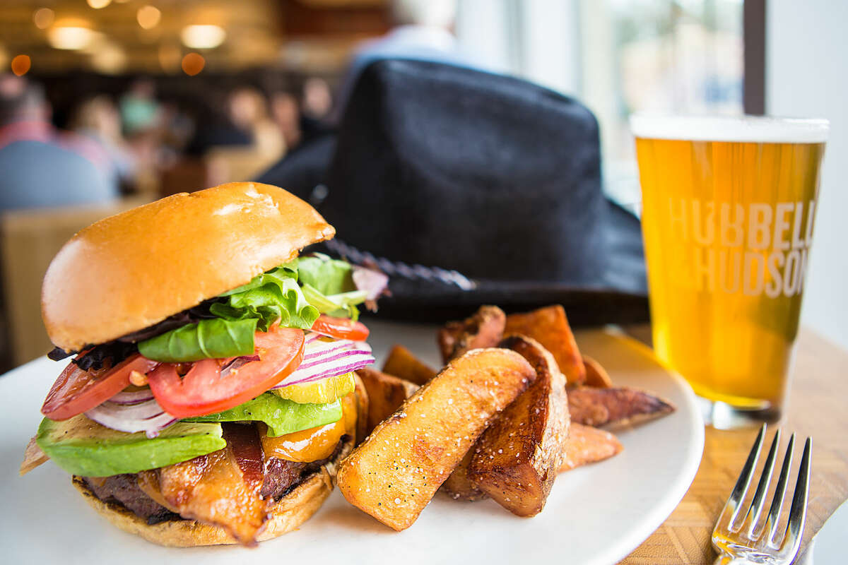 Hubbell & Hudson Kitchen offered a special rodeo-themed burger in previous years.