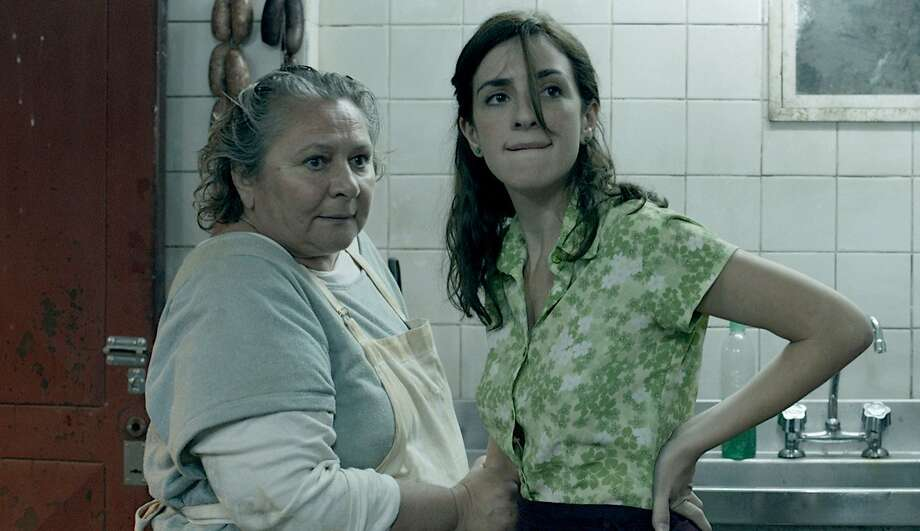 "(L-r): Rita Cortese as Cocinera and Julieta Zylberberg as Moza in a scene from ""Wild Tales,"" Argentina's Oscar nominee for best foreign language film. Illustrates FILM-WILDTALES-ADV27 (category e), by Michael O'Sullivan © 2015, The Washington Post. Moved Tuesday, Feb. 24, 2015. (MUST CREDIT: Javier Juliá/Sony Pictures Classics.) Photo: Handout, Washington Post"