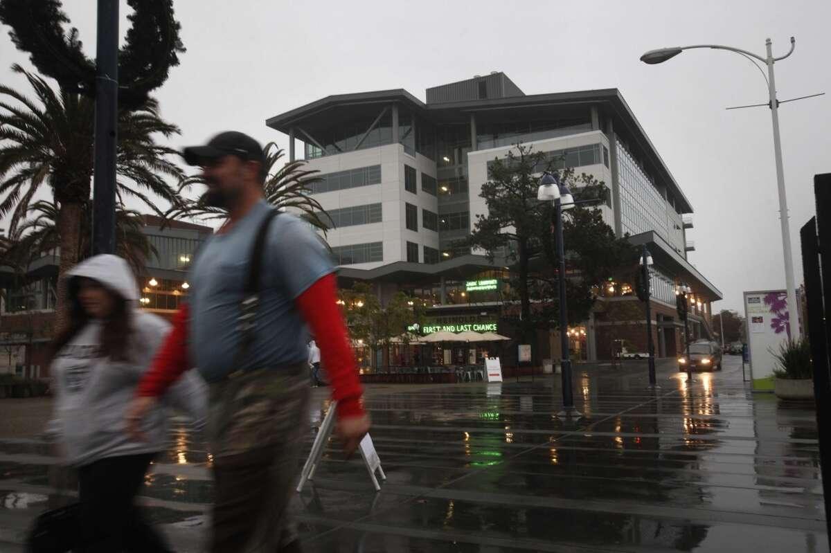 Jack London Square, 2009 in Oakland