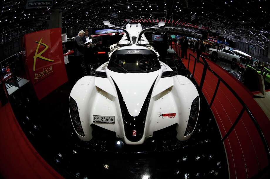 The new Radical RXC Turbo 500 is presented on the second press day of the Geneva International Motor Show Wednesday, March 4, 2015 in Geneva, Switzerland. The show opens its doors to the public March 5 through March 15. Photo: Laurent Cipriani, AP / AP