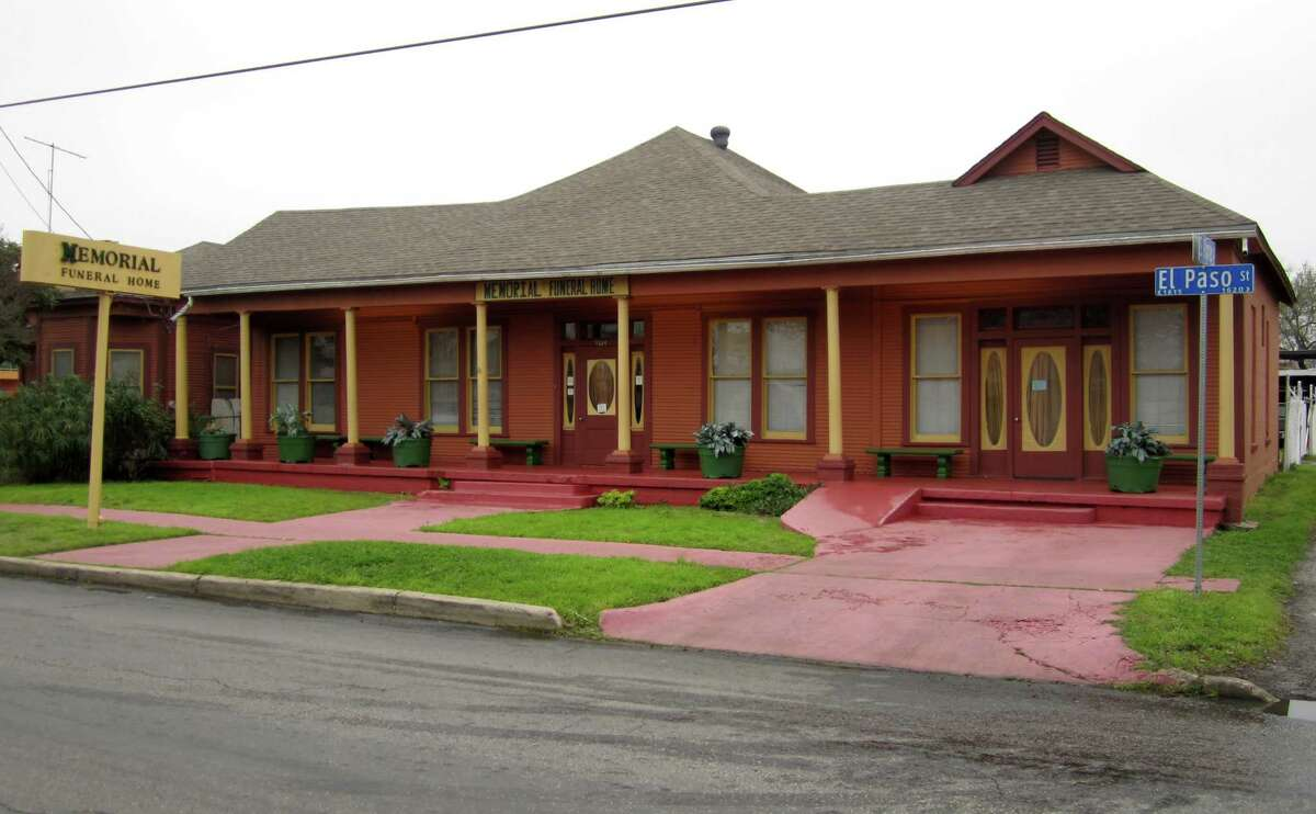 Memorial Funeral Home, at 1614 El Paso Street, is accused in a lawsuit of losing a woman's remains.