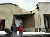 There was a partial roof collapse Wednesday at 13 Clarke Industrial Park in Bethel. The collapse occurred in the north end of a 95,000-square-foot building that also houses Sky Zone trampoline center. Sky Zone was not open when the collapse occurred and only suffered minor water damage from the incident.