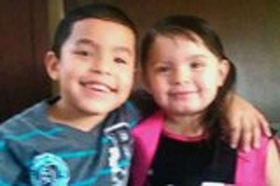 Leah Avila, 3, and 4-year-old Jordan Avila were last seen about 5:45 a.m. Wednesday at their home near Crosstimbers and Bauman Road, according to the Houston Police Department. They are believed to be in danger. Photo: Houston Regional Amber Alert