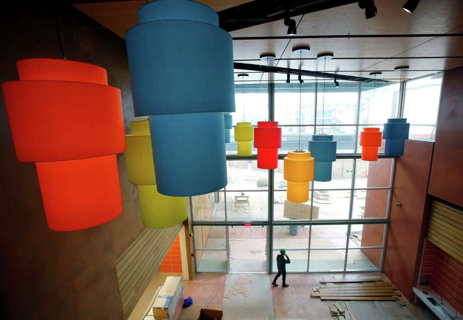 The inside of the soon-to-open DoSeum, the new Children's Museum being built on Broadway, is seen Wednesday March 4, 2015. Photo: William Luther, Staff / San Antonio Express-News / © 2015 San Antonio Express-News