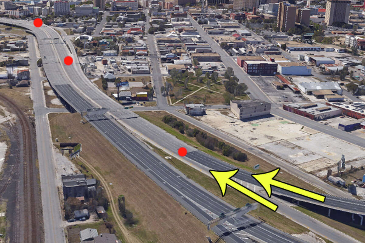 Interstate 35 south to U.S. 281 south into downtown: This one is a downtown classic. Commuters from southbound 35 first must merge into southbound 281 traffic, which is usually a simple task. But then you have to reach the right exit. If you are bold you will try to slide over four lanes of traffic to reach the Brooklyn/McCullough Avenue exit, but odds are you will have to gradually make it across to get to the Houston Street/Alamo Street exit further down.