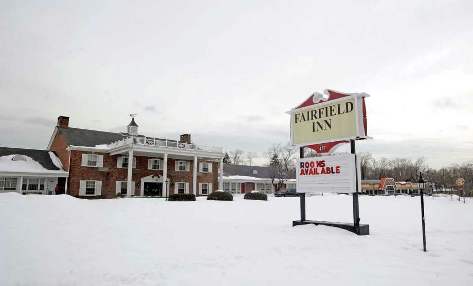 The buildings at 417 Post Road, that house the Fairfield Inn and The Circle Diner in Fairfield, Conn., have been sold. Photo: Cathy Zuraw / Connecticut Post