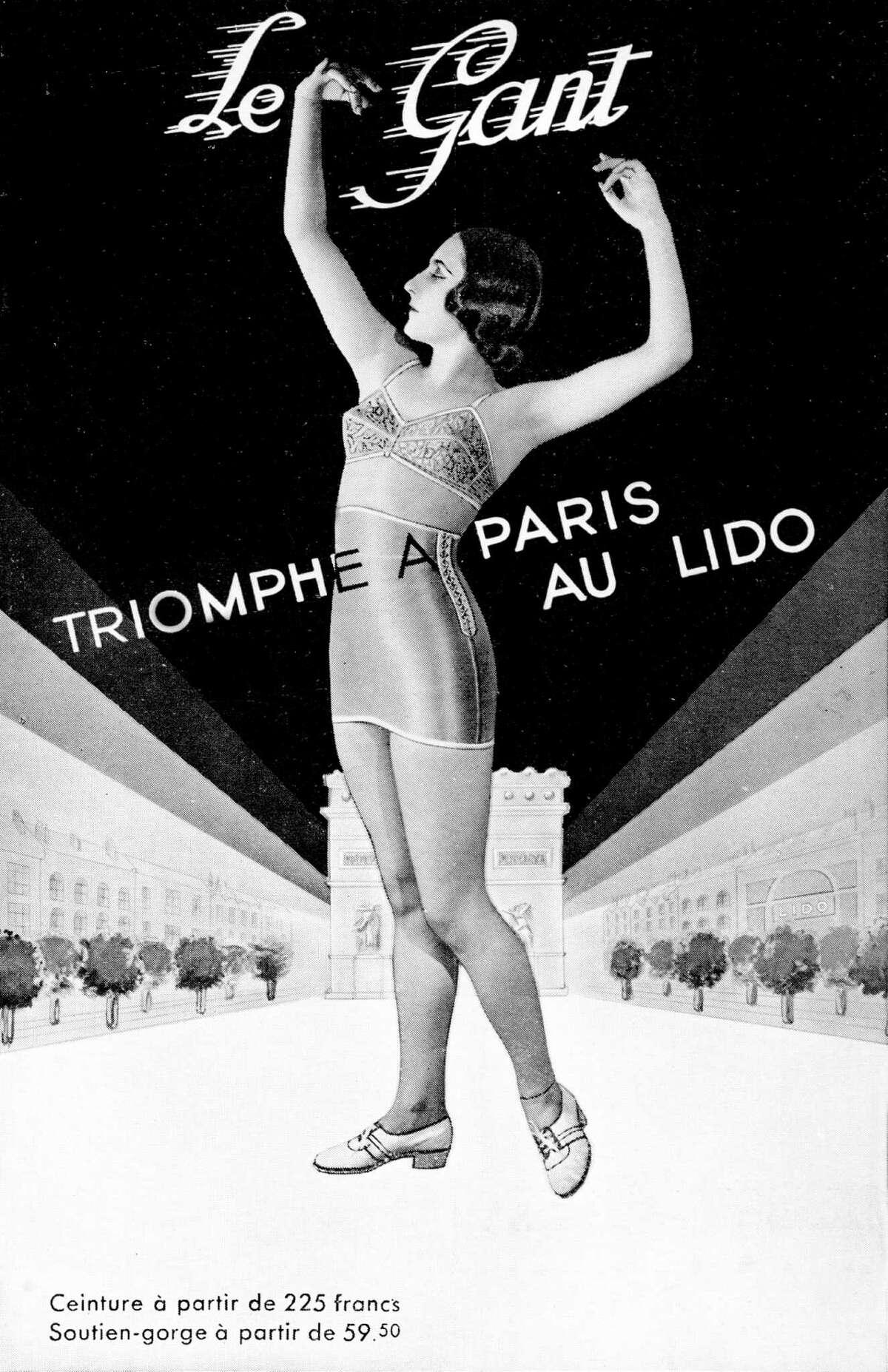 1920 Lingerie, bra and girdle