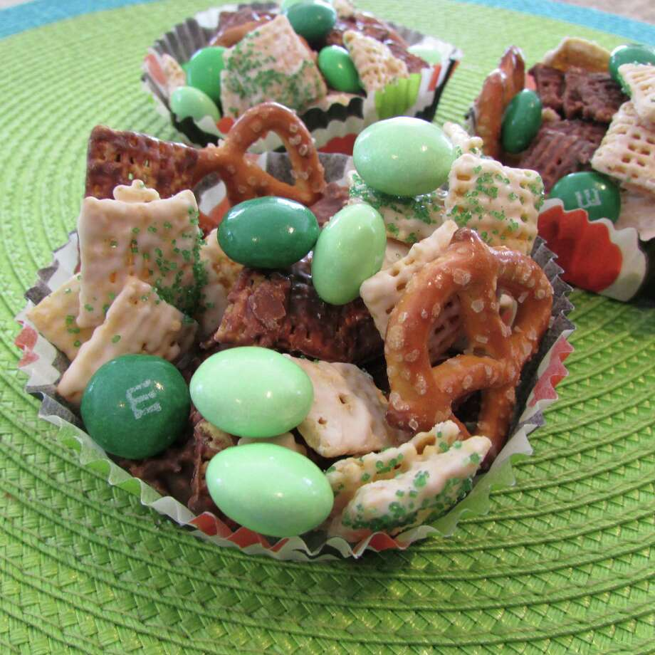 Leprechaun Nibbles offer a unique treat for St. Patrick's Day parties at school. (Jodie Fitz)