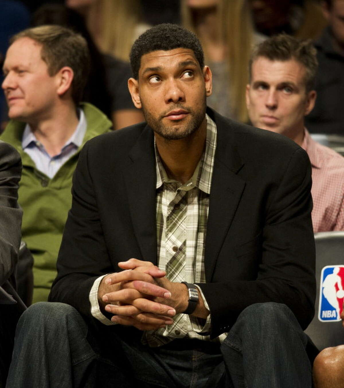 """Tim Duncan - """"Most likely to succeed,"""" accepted into Havard his freshman year Timmy was the first of the group to turn 18 but smoking and clubbing were the least of his concerns; he couldn't wait to get his hands on his voter's registration card. He is the responsible kid your parents felt safe letting you go out with, whenever he wasn't reorganizing his sock drawer or reading the dictionary. The rare times he does go out, he rolls out in a sweet custom ride."""