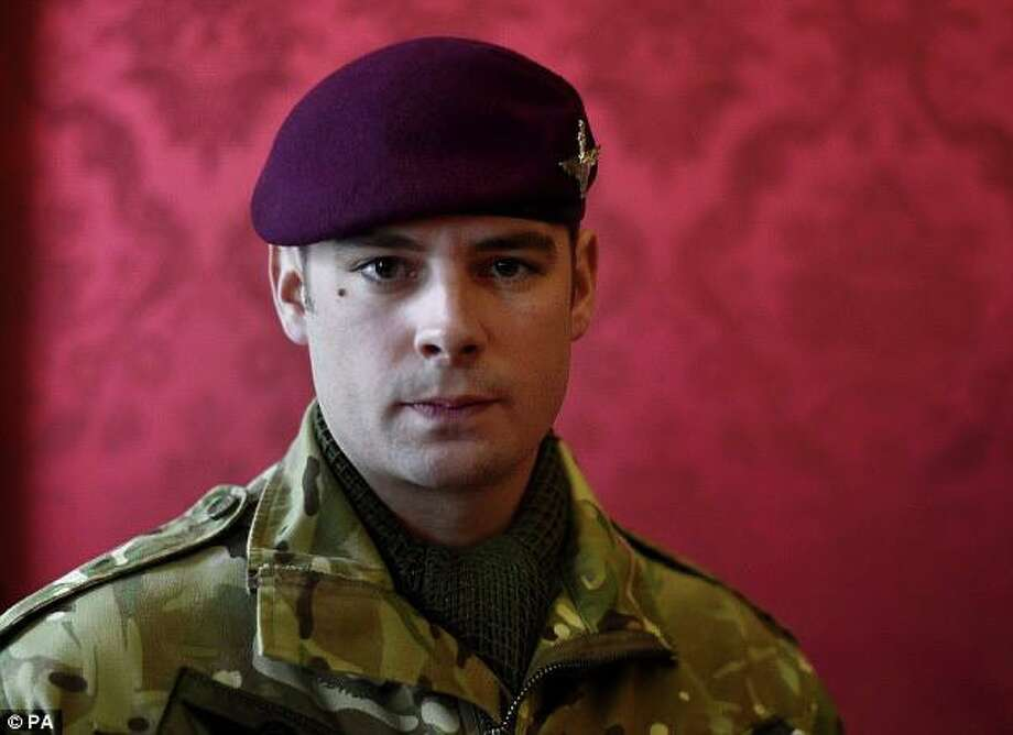 Lance Cpl. Joshua Leakey, British Army paratrooper, was awarded the Victoria Cross, the UK's highest valor award, after a 2013 battle in Afghanistan where he saved the life of an U.S. Marine Corps officer. Source: USMC Facebook page