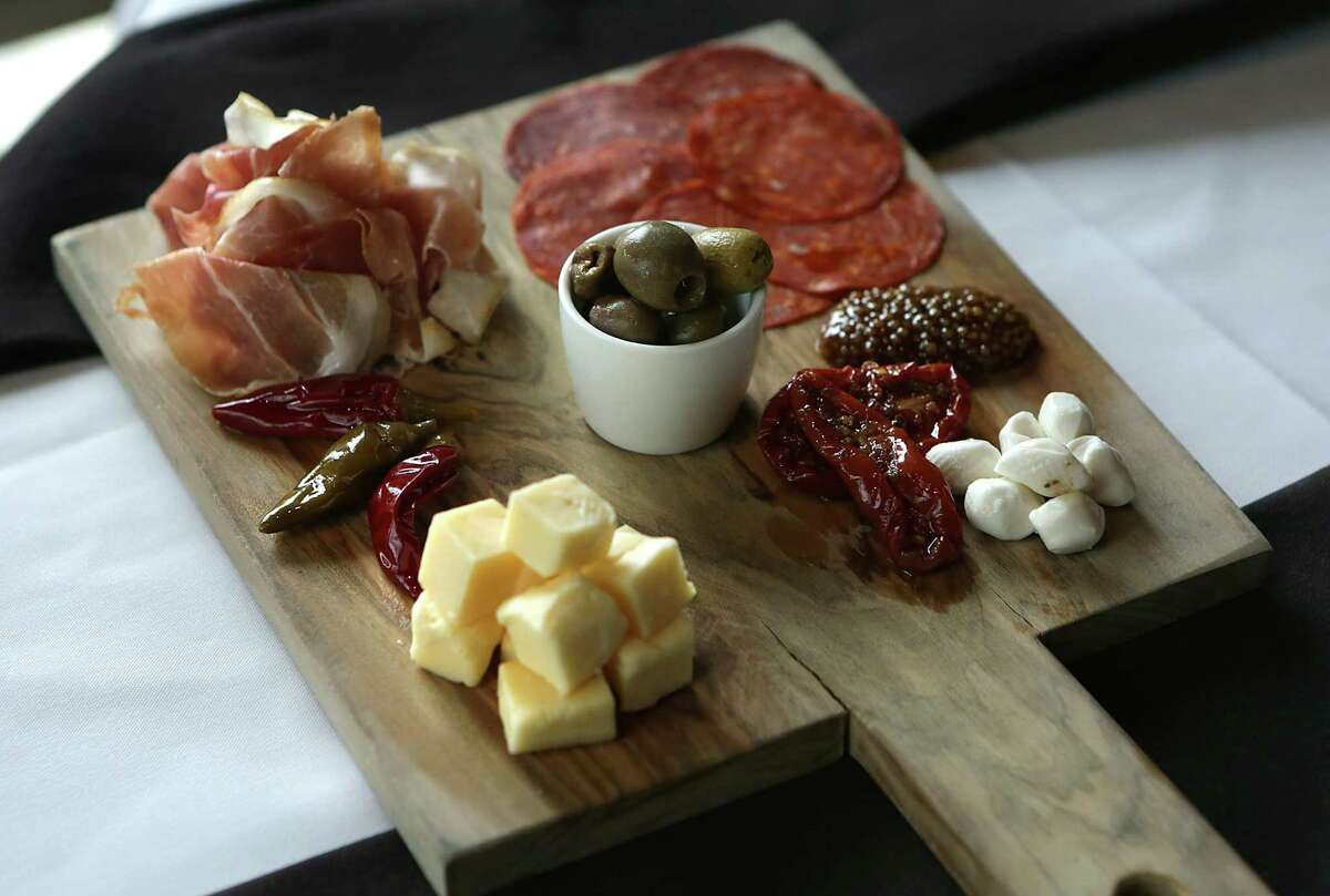 The antipasti board at J Prime Steakhouse.