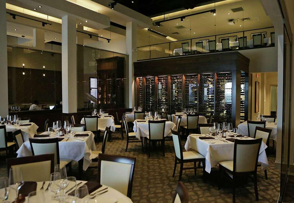 The interior at J Prime Steakhouse.