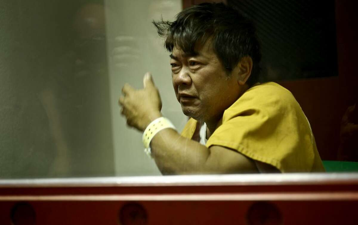 July 22, 2010: Jacob Bisbee, 2, was mauled to death by three pit bulls at his step-grandfather's home in Concord. Steven Hayashi, 55, (pictured) was convicted of involuntary manslaughter. The dogs were destroyed. STORY